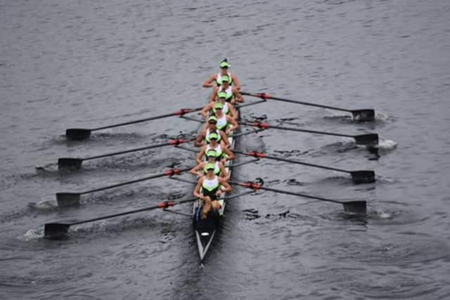 Connecticut Boat Club rowers won two gold medals and two bronze medals at the Riverfront Regatta last weekend in Hartford.