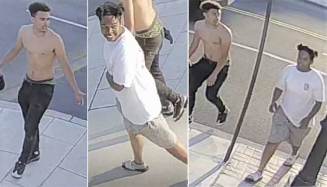 RECOGNIZE THEM? Teaneck police want to question these two in connection with a June 22 arson fire.