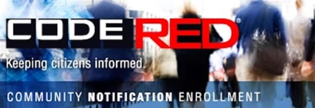 There will be a drill of the Code Red system on Wednesday.