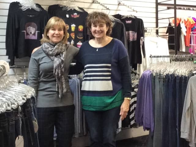 Left to right: Rea Epstein and  Vicki Price, owners of Celebrity Kids in Tenafly.