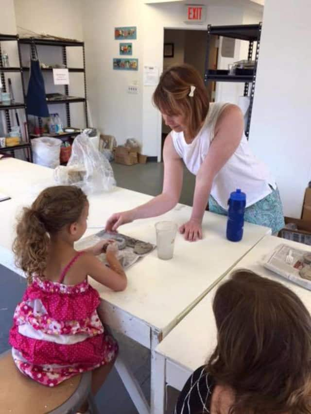 Children ages 6-10 can learn ceramics in ArtsWestchester's Kids n' Clay program.