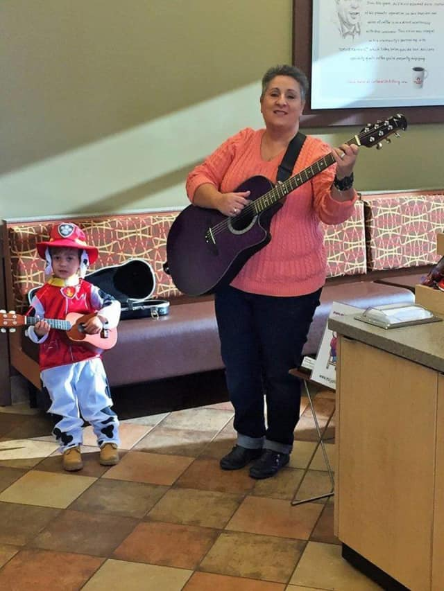 Ms. Janine sings and signs children's music every Saturday morning at Chick-Fil-A in Brookfield.