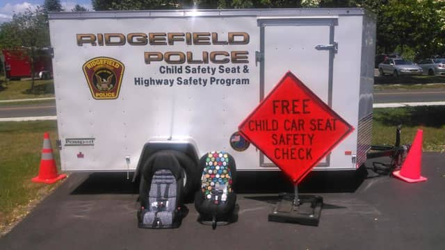 The Ridgefield Police Department will have a car seat clinic July 13 in the Prospector Theater parking lot.