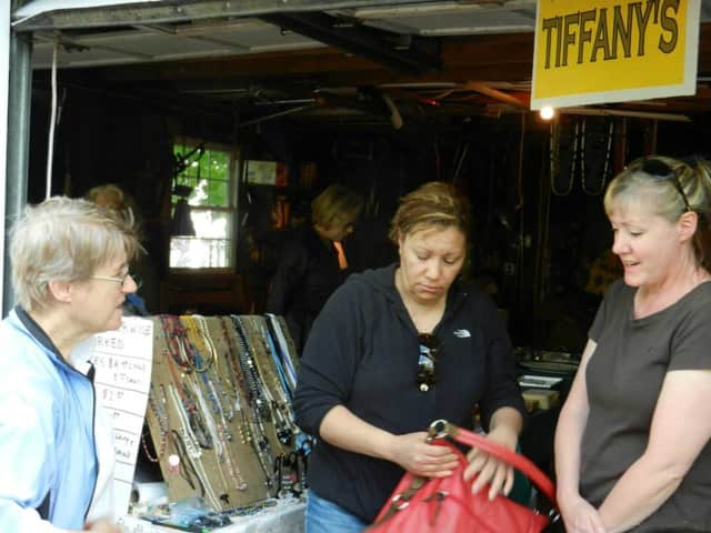 The Hudson Chorale Fundraiser/Tag Sale has more than the typical items seen at such events.