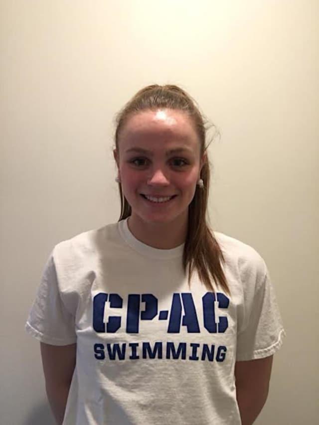 Kaki Christensen of Darien will participate in USA Swimming's National Select Camp.