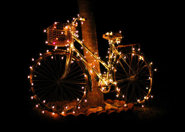 Celebrate the holidays at Ridgewood Cycle Shop.