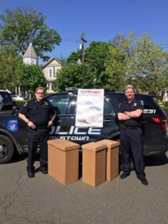 The Clarkstown Police Department participated in National Prescription Drug Take-Back Day.