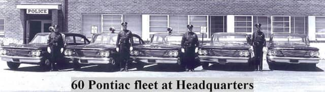 Clarkstown Police showed off their 1960s Pontiac fleet for Throwback Thursday.