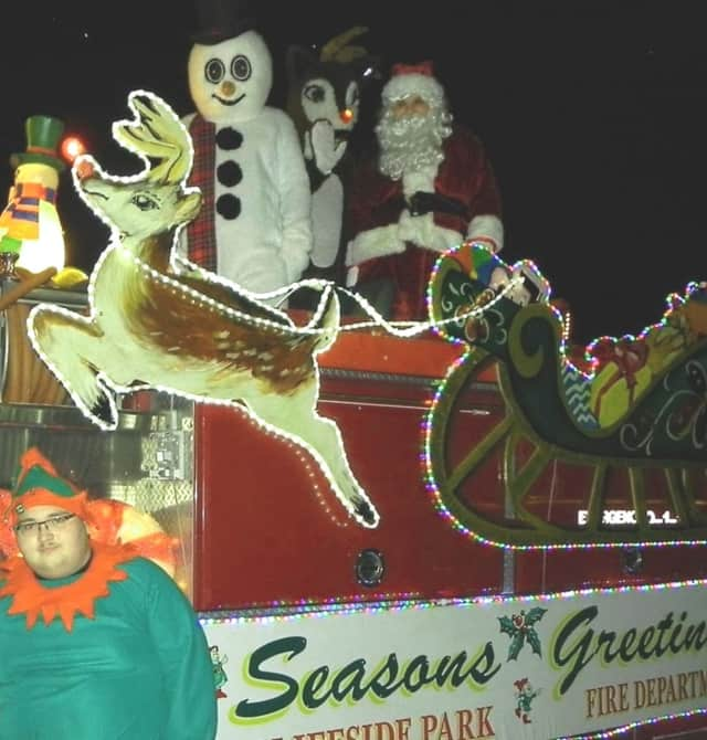Santa & Co. hit the Cliffside Park streets again this year.
