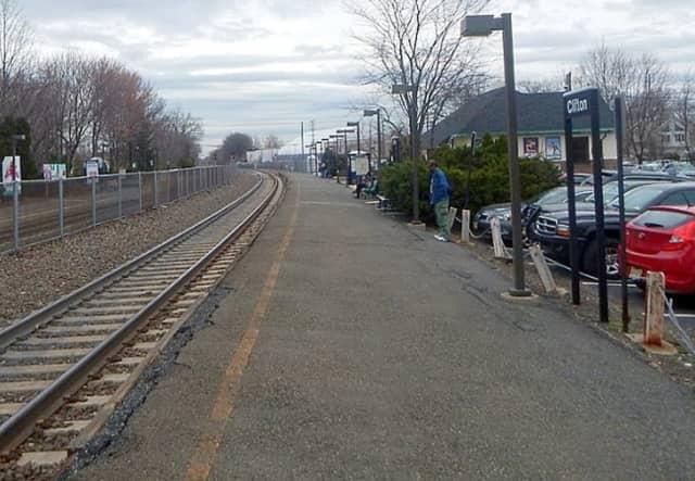 Clifton train station.