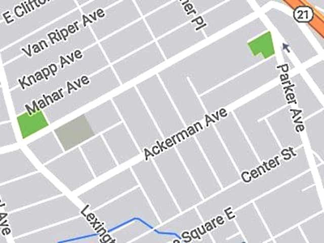 The victim was found on Center Street near Parker Avenue.