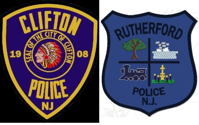 Clifton, Rutherford police team up.