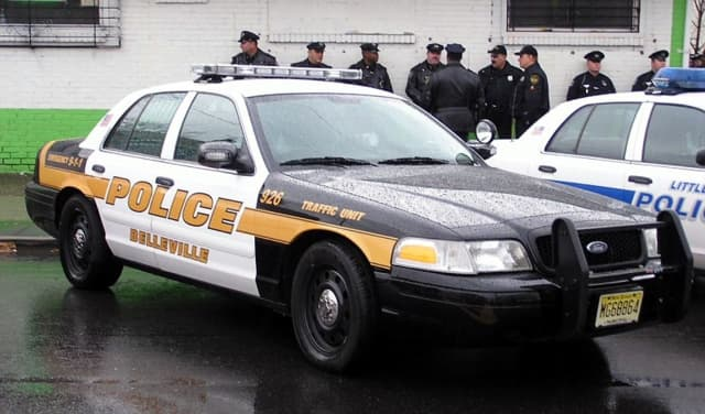 A man suffered serious injuries trying to prevent a vehicle theft in Belleville Tuesday.