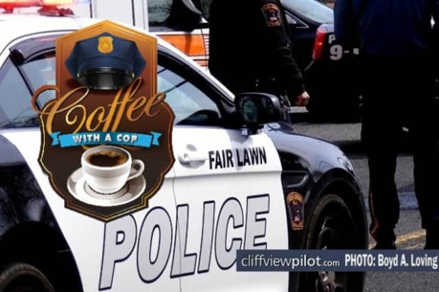Coffee with a Cop will be on June 16 in Fair Lawn.