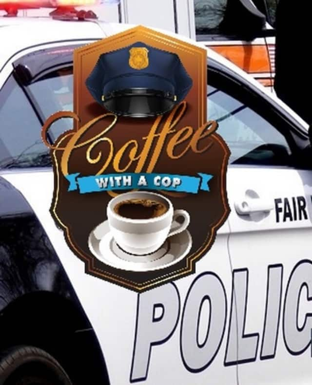 """""""Coffee With a Cop"""" has proven popular in Fair Lawn."""