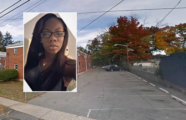 Shanaya Coley, Marion Street garden apartment complex where her car was found.