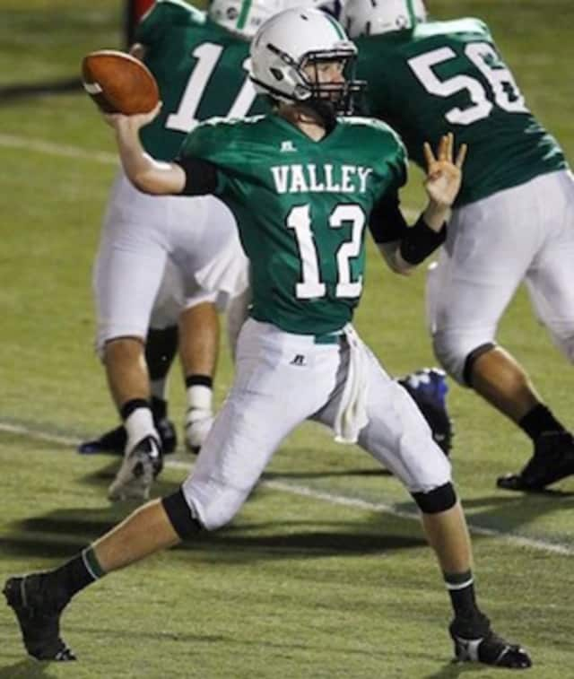 Quarterback Colin Dedrick looks to lead the Pascack Valley football team to its fourth straight season with double digit victories.