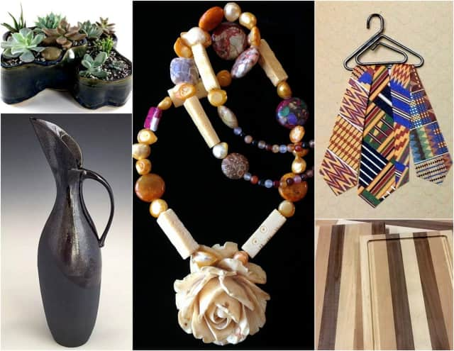Some of the artisan wares you'll find at the Ethical Culture Society of Westchester's Fair Trade & Artisan Craft Fair.