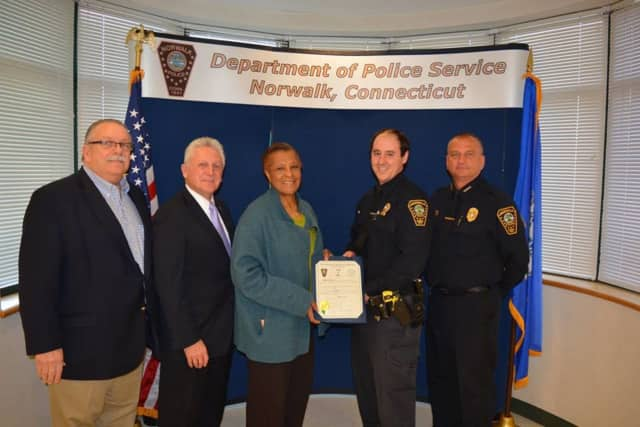 Norwalk Police Department announced the promotion of Brendan Collins to detective.
