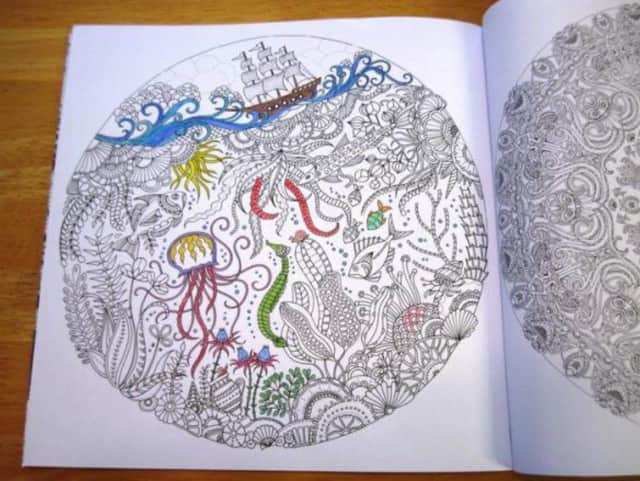 Coloring for adults takes place at the Red Hook Library on Tuesday, Jan. 5.