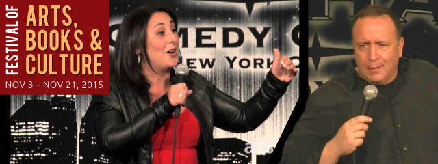 Comedians Robyn Schall and Dan Wilson will perform Saturday, Nov. 21 at the Jewish Community Center in West Nyack.
