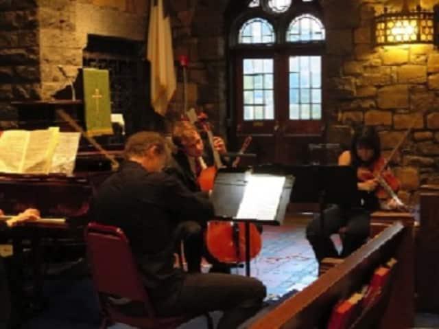The Con Brio Ensemble will perform Saturday at 3 p.m. at the New Rochelle Public Library.
