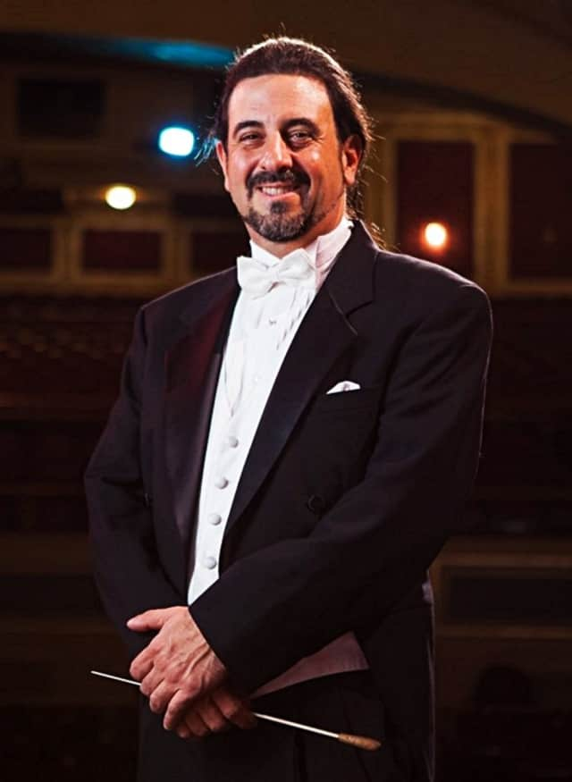 Conductor Anthony LaGruth will be making his debut with the Glen Rock Pops on Sunday.