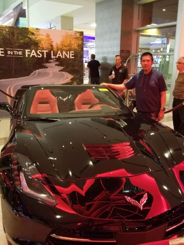 A Rockland County man won a 2018 Chevrolet Corvette Stingray worth more than $90,000.