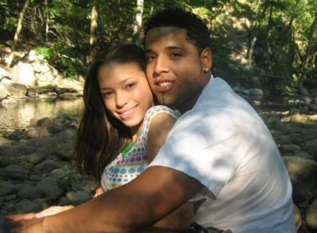 Joelicet Lausell poses with her husband Anyelo before his cancer diagnosis.