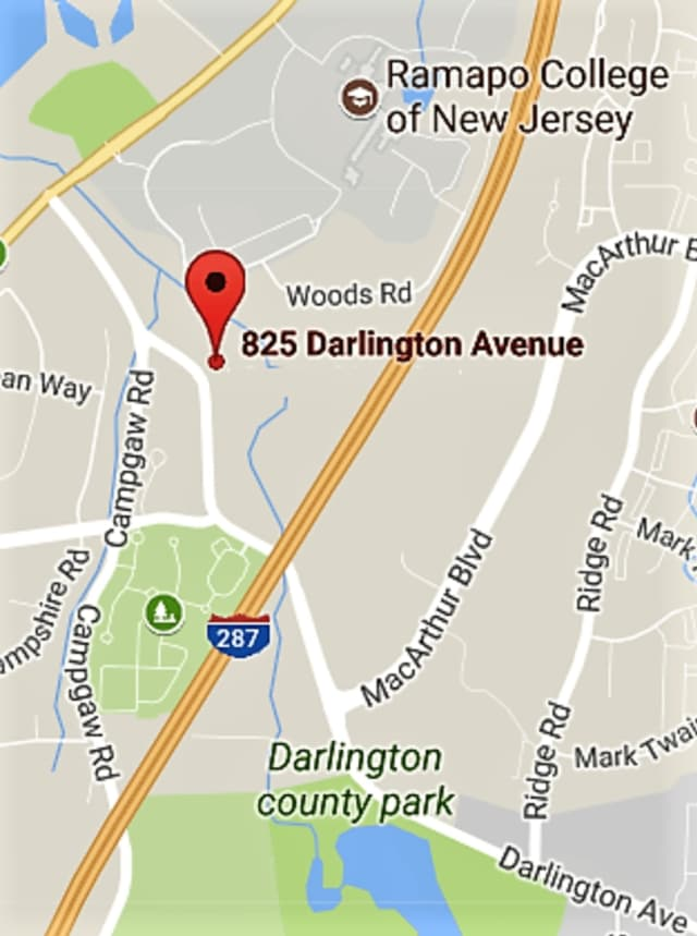 Darlington Avenue was closed between MacArthur Boulevard and Campgaw Road while Orange & Rockland repaired the damage.