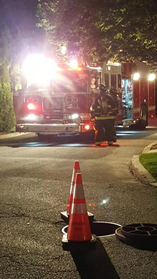 Croton firefighters opened manholes to vent a strong odor coming into homes the odor and evacuated several residents.