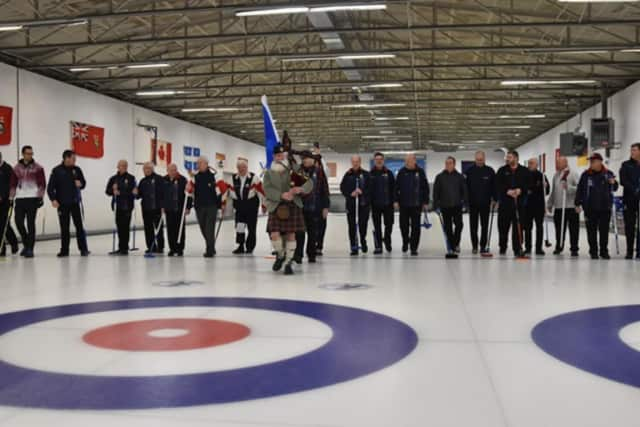 The Royal Caledonian Curling Club from Scotland ventured to Westchester to take on the Ardsley Curling Club.