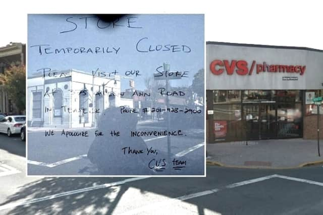 structural issue closes ridgefield park cvs mahwah ramsey daily voice