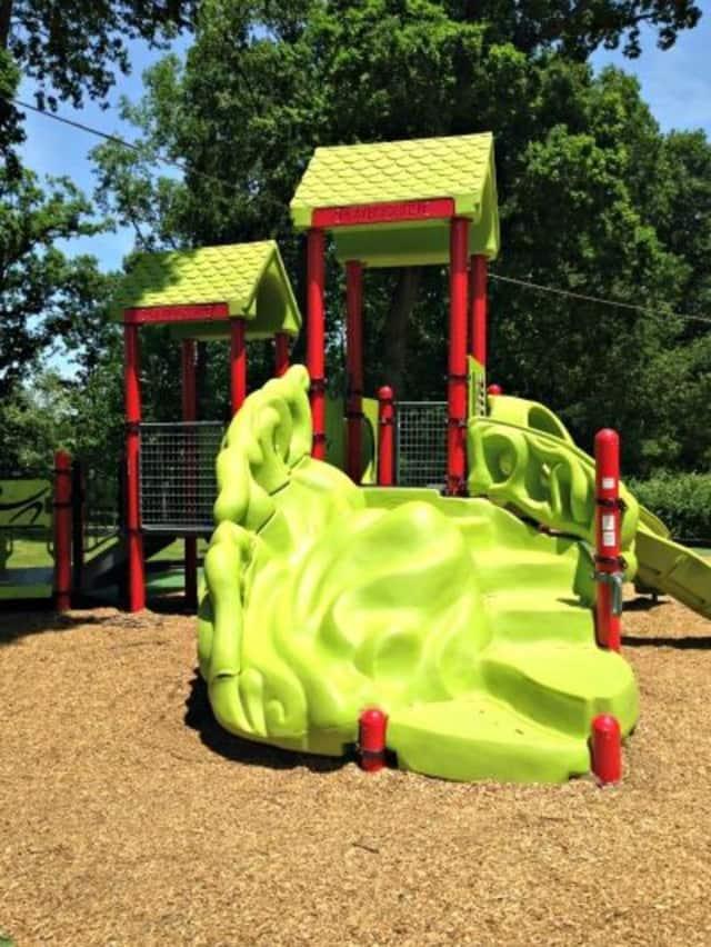 Dairy Street Playground in Midland Park.