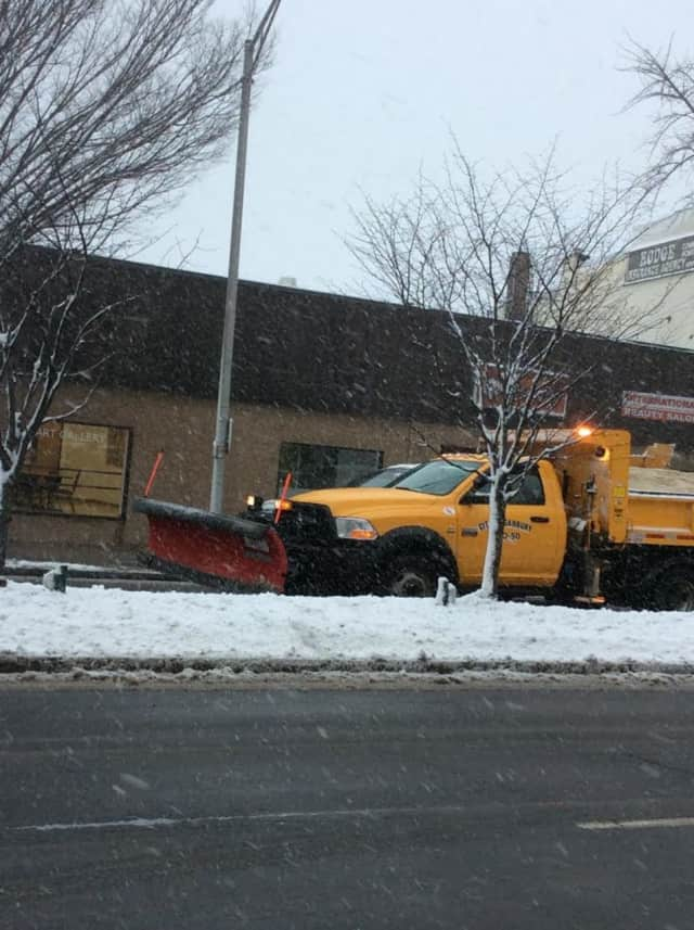 Plows may be out in force Friday to clear up the 3 to 5 inches of snow predicted to hit Fairfield County.
