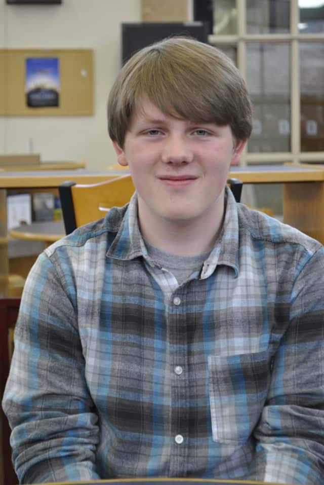 Broadview Middle School eighth-grader Charlie Wimer won a state Excellence in Citizenship Award.