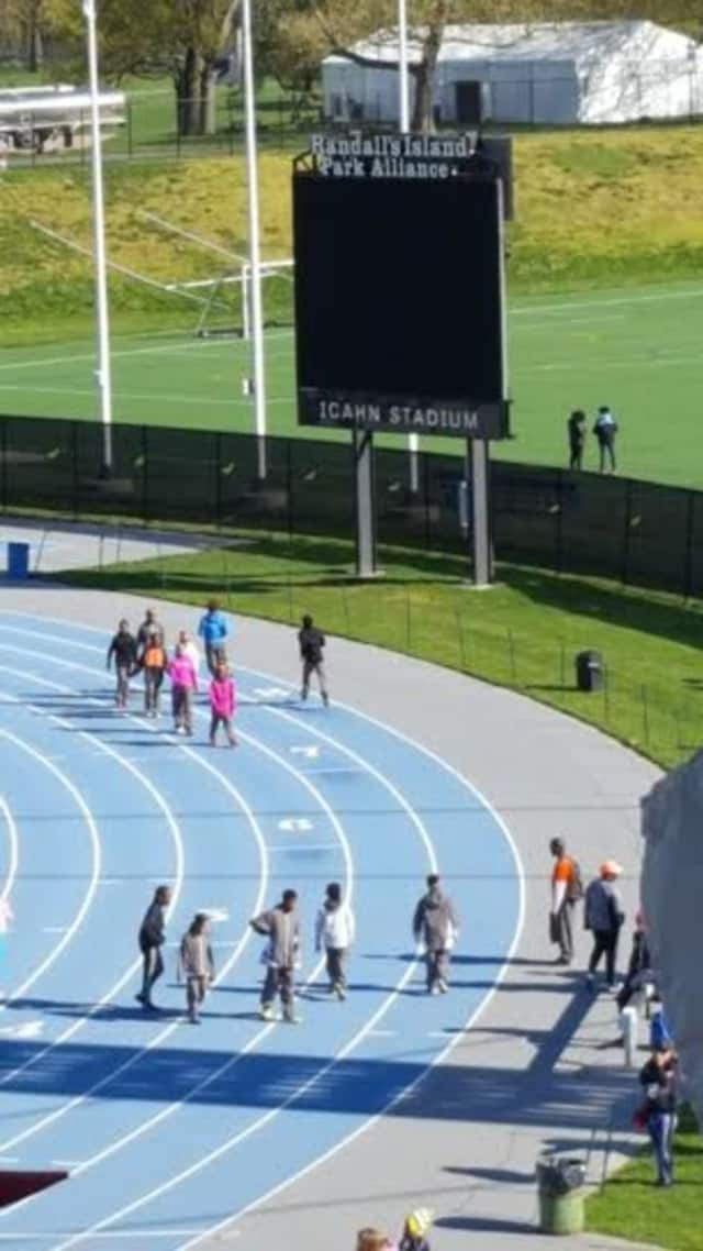 The Danbury Flyers recently competed in the first the 12th annual New York Relays.
