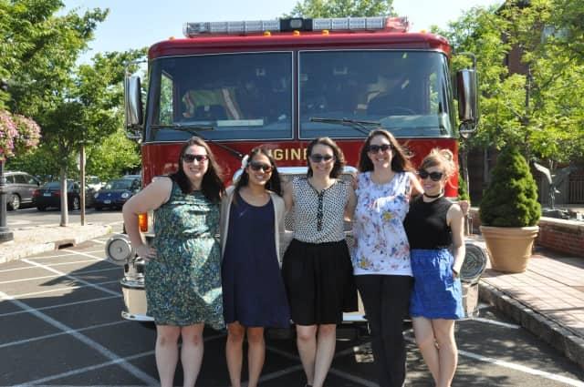 Darien librarians (left to right): Samantha Cardone, Tori Ogawa, Elisabeth Gattullo Marrocolla, Mia Orobona, Anna Taylor