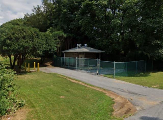 Sewage pumping station in the 1700 Highland St, Harrisburg, Swatara Township.