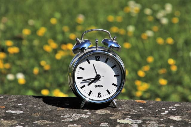 Daylight Saving Time will begin again this weekend.