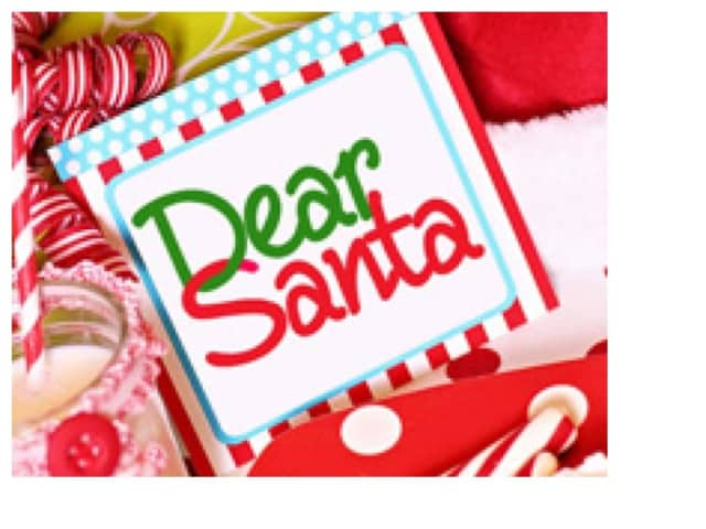 The SoNo Branch of the Norwalk Library will hold a Dear Santa letter-writing event for children on Saturday.