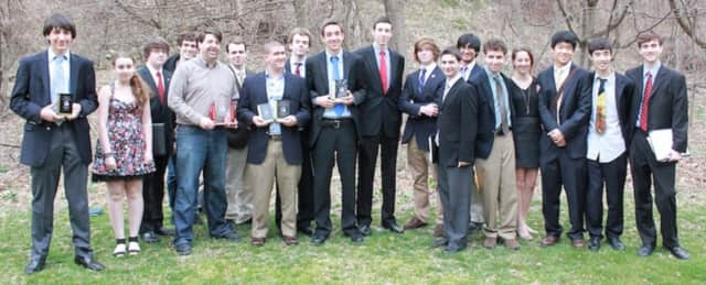 Joel Barlow High School's debate team scored top marks at a recent competition.