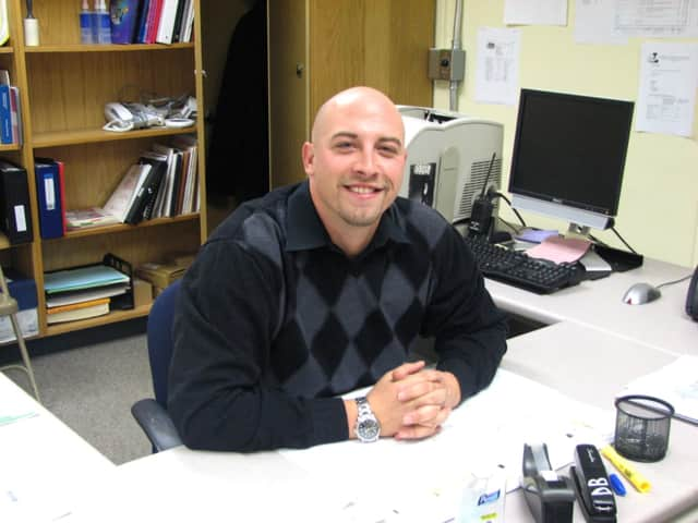 The new Tuckahoe High School / Middle School Assistant Principal Scott DeBellis.