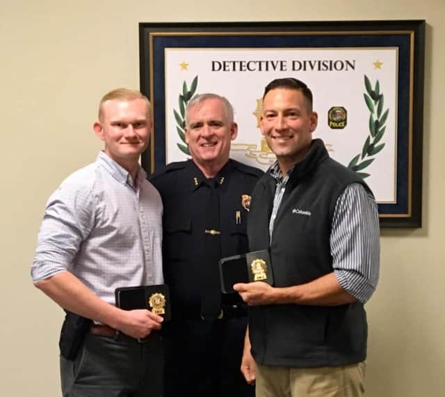 Detectives JD Smith and Detective Jim Ruzskowski have been permanently assigned to the Greenwich Police Detective Division.
