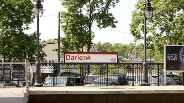 No injuries were reported when a person walked onto the train tracks Friday near the Darien train station.