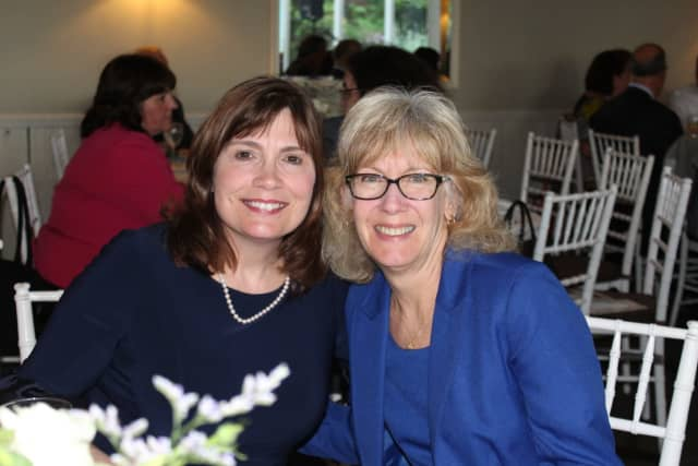 Diane Chaissan, on the right, is retiring from Croton-Harmon School District.