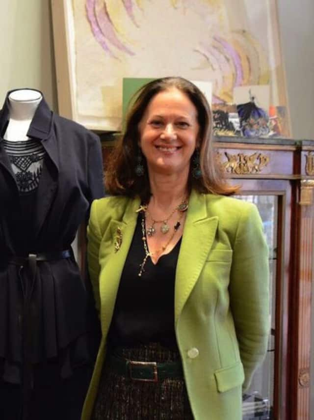 Diane Roth, owner of L'Armoire in New Canaan.
