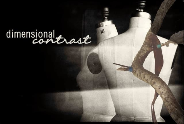 """Artists Dayna Wenzel and Shona Curtis will talk Oct. 15 at """"Dimensional Contrast."""""""