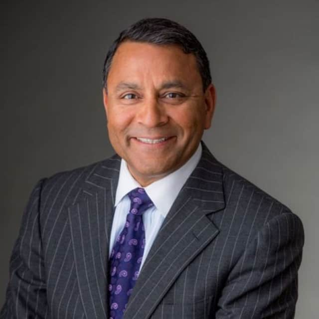 Dinesh Paliwal, Chairman, President and CEO of Stamford-based Harman. Samson Electronics will acquire the automotive electronics company, that is based in Stamford.