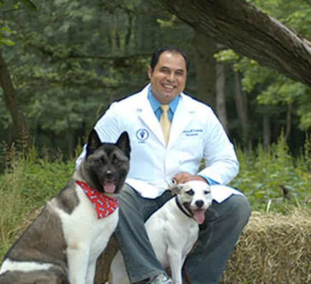 Dr. Sherif Lawendy runs Curbside Veterinary Clinic in Easton.